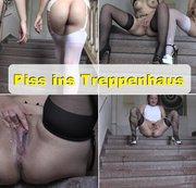 Piss ins Treppenhaus