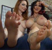 Foot fetish fucker