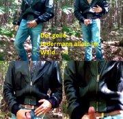 Geil Wichsen Im Wald