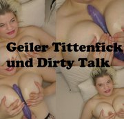 Geiler Dildo Tittenfick in FULL HD !!!