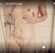Erwischt in der Dusche