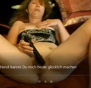 #Deutsche #Nutte# Keinen Schwanz zur Hand und der#Muschi#da