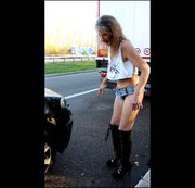 #publik#auf deutschen#Parkpl�tzen#unterwegs nach dem n�chsten#Sex#gewesen