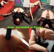 Anal- Akrobatik in Nylons (Teil1)