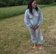 Pippi im PVC Anzug