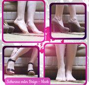 Schwarz oder Beige - Heels