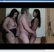 Festa di Bacco con ballo erotico
