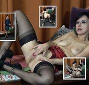 WANILIANNA: Sexy secretary in nylon stockings - Full HD video Download