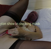 WANILIANNA: Nylon show in stocking mask part 1 in 4K Download