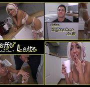 Caffe´ Latte,what else?