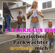 1. PARKHAUS PISS CLIP - PARKW�CHTER ERWISCHT MIT UND BESTRAFT MIT NS DUSCHE