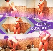 Alleine duschen ....