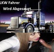 LKW Fahrer Wird Abgesaugt....
