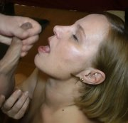 Geile Spermaladung in den Mund