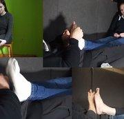 Best of Füße massieren TEIL 2 mit Luisa, Anna und Emily