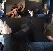 Best of Füße massieren TEIL 4 mit Lisa, Leonie und Alice/Emma