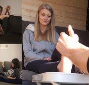 Best of Füße massieren TEIL 5 mit Lilli, Lisa und Alice/Emma