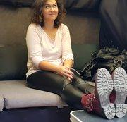 Ana im Casting Bus . Sockjob zu FaceFuck eskaliert (ENG)