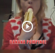 Banana Blowjob!