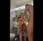 Im Hotel Badezimmer spaß gehabt