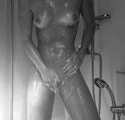 Würdest du gern mit mir unter die Dusche?