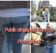 public eingenässt dann ne Pizza geholt