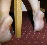 Füße ganz groß ganz nah