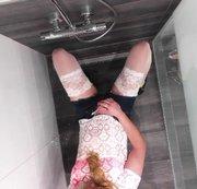 NS in der Dusche