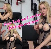 User darf mich vor der Webcam anpissen