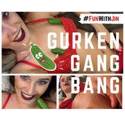 """GURKEN-GANGBANG! Vier """"Schwänze"""" für Jin! #FunWithJin ( Folge 1)"""