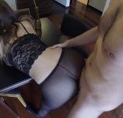 Fetisch Fick in meiner geilen Panty mit User Silvi