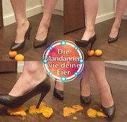 Die Mandarinen wie deine Eier