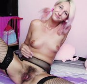 Shy hairy showing you her extreme hairy pussy . Role play