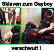 Nutzlosen Sklaven zum Gayboy verschwult