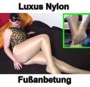 Luxus Nylon Fußanbetung