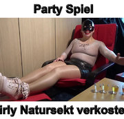 Party Spiel ! Girly Natursekt Verkostung !