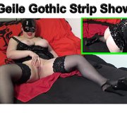 Geile Gothic Strip Show