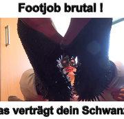 CBF Footjob brutal was verträgt dein Schwanz ?