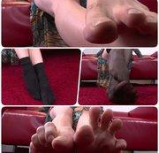 Füsse Socken Nylon