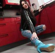 Der absolute Suchtfaktor: Jeans + Stiefel