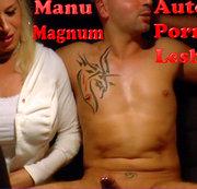 3er MANU MAGNUM Lesbo Auto PORNO 1 !!