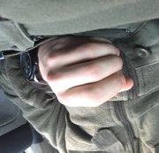 Beim Wixxen im Auto gestört..