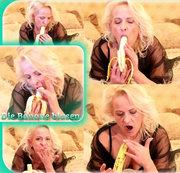 Die Banane blasen