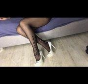 wichsvorlage : teil 1 heigh heels weiß mit pajeten schau es dir an meine geile hegh heels