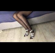 wichsvorlage teil 3 meine silber high heels