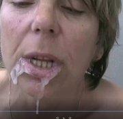Inden Mund gefickt sein Sperma