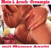 Arsch-Creampie mit Azubi !