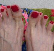 Meine Füße relaxen Zehenfetisch