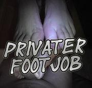 Privater Footjob