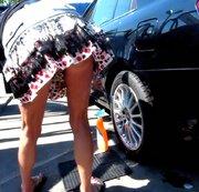 Shoppen und Autopflege
